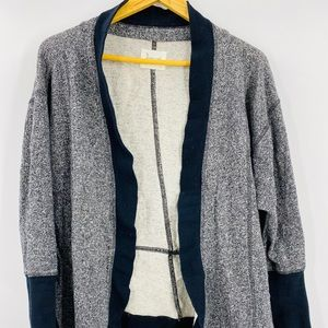 Bacall heather Ed open front cardigan